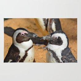 African penguins Rug