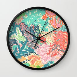 Reef Rhapsody Wall Clock