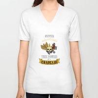 warhammer V-neck T-shirts featuring Chaplain, Warhammer 40K by ZsaMo Design