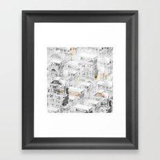 Toronto Framed Art Print