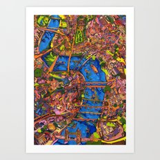 So Much to See Art Print