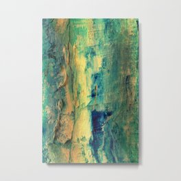 Abstract Oil 3 Metal Print