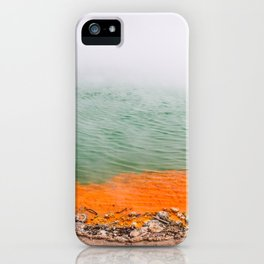 Orange Edged iPhone Case