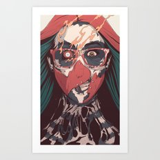 SELF ✖ INFLICTED Art Print