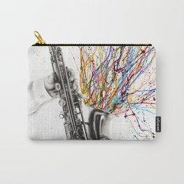 The Jazz Saxophone Carry-All Pouch
