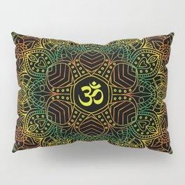 Mandala Ohm Yay Green Pillow Sham