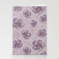 magnolia Stationery Cards featuring Magnolia by Vickn