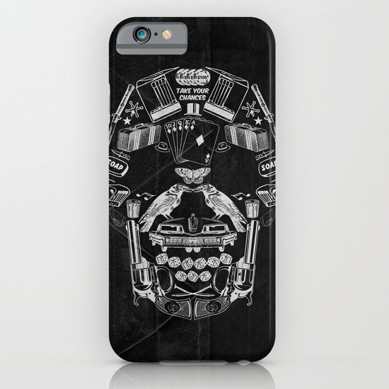 TAKE YOUR CHANCES iPhone & iPod Case