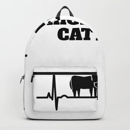Gift For Highland Cattle Fans Enthusiasts Backpack