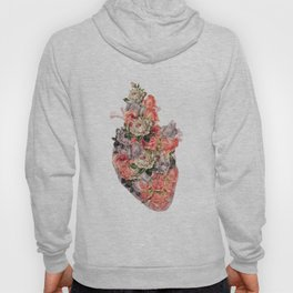 heal your heart white version Hoody