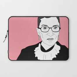 Ruth Bader Ginsburg, pink Laptop Sleeve