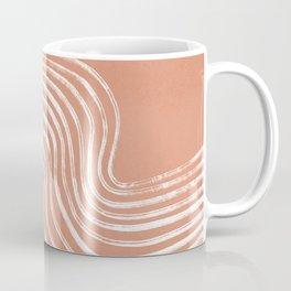 Watching riding a wave - boho Coffee Mug