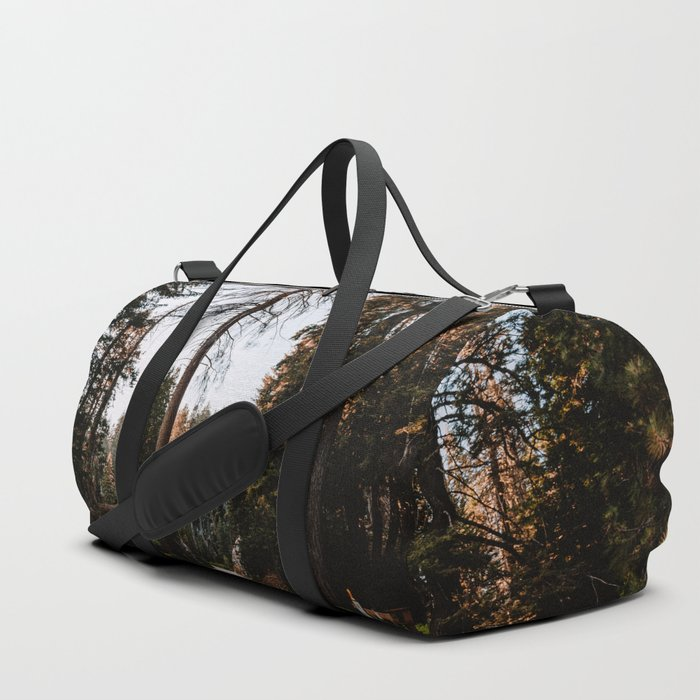 Summer Drive Through the Forest Duffle Bag