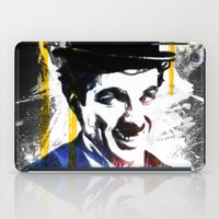 chaplin iPad Cases featuring charlie chaplin by manish mansinh