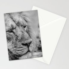 Face Of Thought Stationery Cards