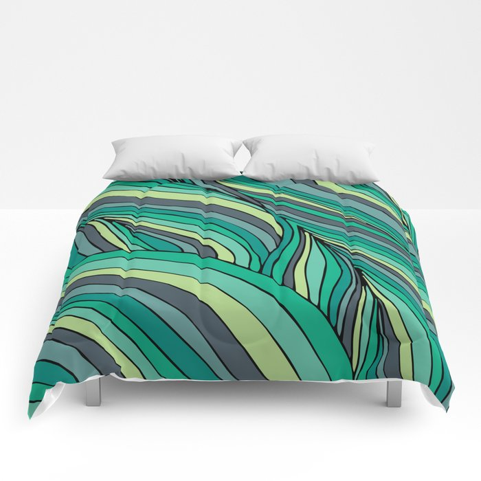 Organic Forest Comforters