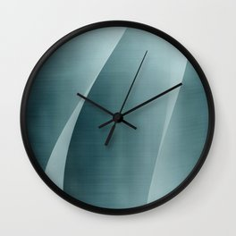 Double Wave Wall Clock