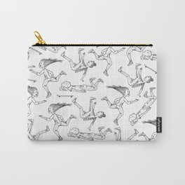 Girl Gang Pattern Carry-All Pouch