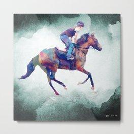 Morning Gallop (horse) Metal Print