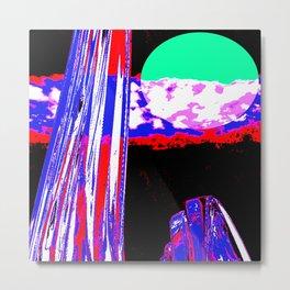 Summer Design 01 Metal Print