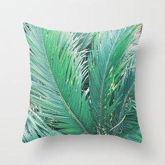 Fronds Throw Pillow