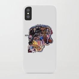 Skull II Homage to Basquiat iPhone Case