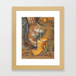 Pilferer Framed Art Print