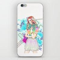 sagittarius iPhone & iPod Skins featuring Sagittarius by Sara Eshak