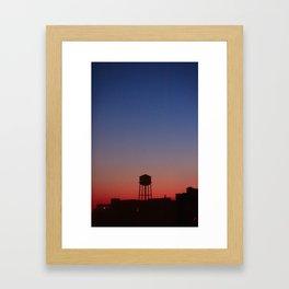 Watertower NY Framed Art Print