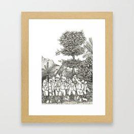 Cat Island Framed Art Print