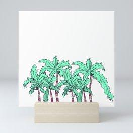 Tropical Palm Trees Mini Art Print