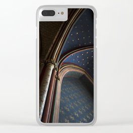 The Stars at Notre Dame Cathedral Clear iPhone Case