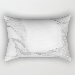 White Marble Edition 4 Rectangular Pillow