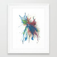 the 100 Framed Art Prints featuring #100 by Samuel Touzjian