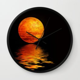 Mondscheinserenate Wall Clock