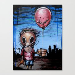Toxic Kid Canvas Print