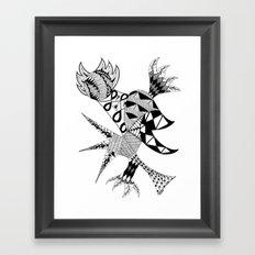 Tenacious Bird Framed Art Print
