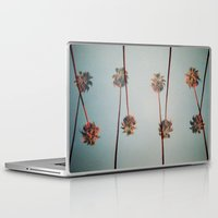 palms Laptop & iPad Skins featuring PALMS by I am Fed