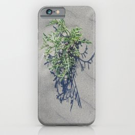 Shoreline Shadow 1 iPhone Case