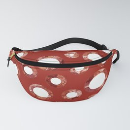 Wine Stain Pattern Fanny Pack