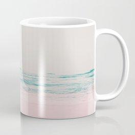 Vintage Pastel Ocean Waves Coffee Mug