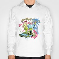 las vegas Hoodies featuring Las Vegas by Tshirt-Factory