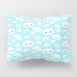 Happy Clouds in the Sky Pillow Sham