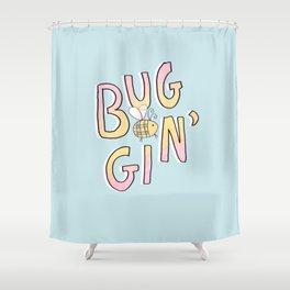 Totally Buggin' Shower Curtain