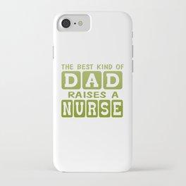 Dad's Nurse iPhone Case