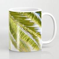palms Mugs featuring Palms by Claire Jantzen
