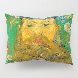 Vincent van Gogh - Portrait of Postman Pillow Sham