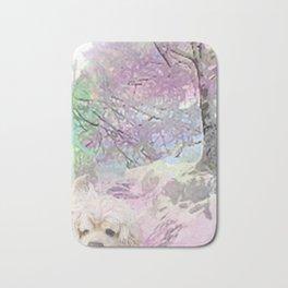 Snow Dog (for Philippa) Bath Mat