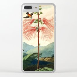 Large flowering sensitive plant. Clear iPhone Case