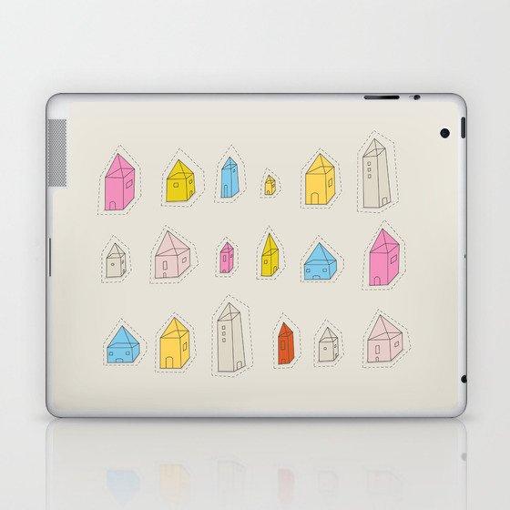 Transparent Houses Laptop & iPad Skin